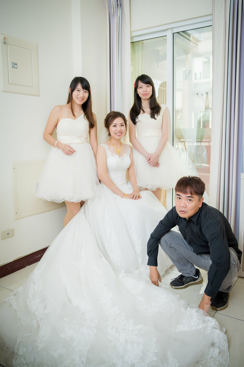 小資首選/婚禮紀錄/單人雙機/多燈拍攝作品