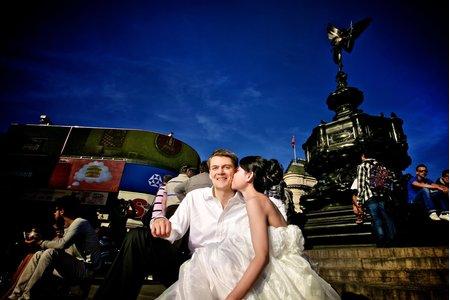 倫敦-卡迪夫自助婚紗拍攝  London - Cardiff Pre- Wedding Photog