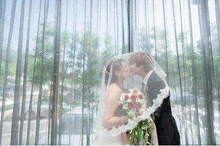 |台中婚攝|宏&真♥迎娶午宴<台中福園日本料理>