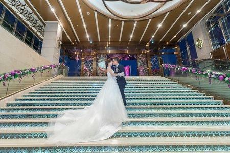|台中婚攝|Dennis&Kitty♥迎娶晚宴|台中葳格國際會議中心(寶麗金)|