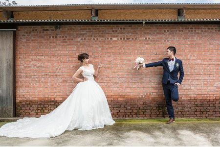 |婚攝傑斯JACE|鴻&鈞♥迎娶午宴<彰化顏氏牧場II-後院婚禮>