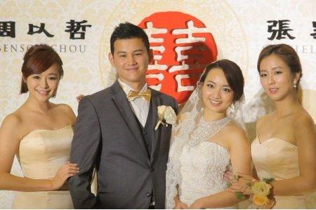 [台北大直典華]明星藝人空拍婚禮/張家寧幸福浪漫婚宴/Benson+Michelle