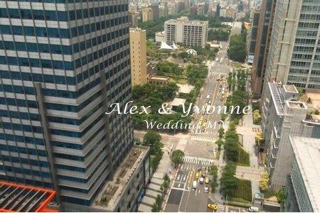 [台北寒舍艾美酒店]強催淚結婚告白/西式證婚感人誓詞/Alex+Yvonne