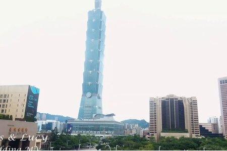 [台北雅悅會館]中國上海婚禮團隊台北空拍攝影錄影/Louis+Lucy
