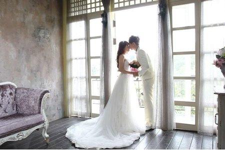 [北部婚紗推薦景點]走進夢幻童話森林/苗栗格林婚紗攝影/育頡+嬿琴