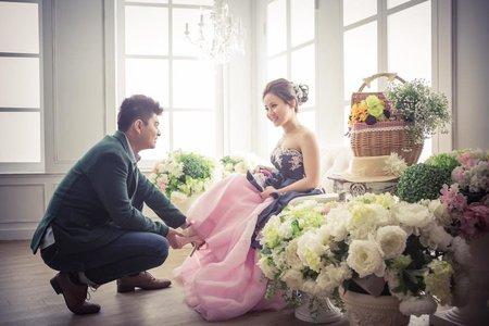 婚紗造型-孟婷婚紗dress