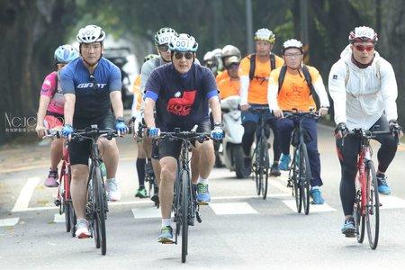馬英九挑戰67K環大雲林自行車賽攝影