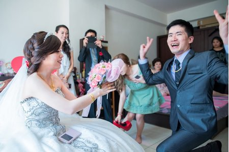 婚禮紀錄-張簡婷婷-迎娶-喜宴大八飯店