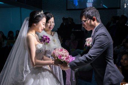 台中非常棧婚禮會館-晚宴-Yusen+Cindy