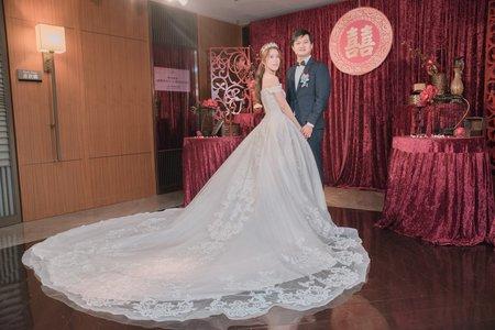 台南香格里拉 迎娶喜宴紀錄 Roger+詩涵