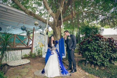 婚禮記錄‧青青花園時尚會館‧Ariel Yu&Volkan Yilmaz 單午宴
