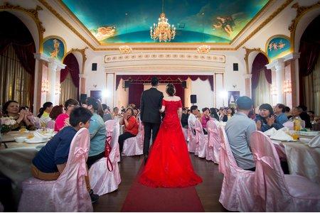 [台南婚攝] 台南漂亮宴會廳 歸寧晚宴 婚禮攝影