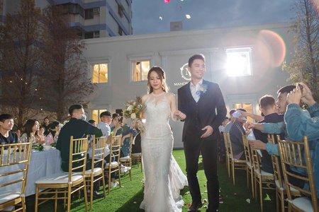 【證婚晚宴】珈拿莊園|婚禮紀錄|美式風格|戶外晚宴精選
