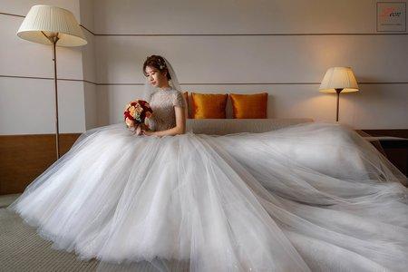 【迎娶午宴】晶華酒店|婚禮紀錄|雙人雙機|美式調調