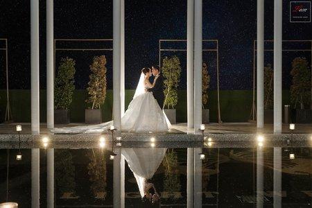 【迎娶證婚晚宴】萊特薇庭 頤和宮|婚禮紀錄|美式風格|室內證婚|雙機服務