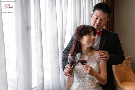 【高雄麗尊酒店】婚攝Leon|證婚午宴|美式婚禮