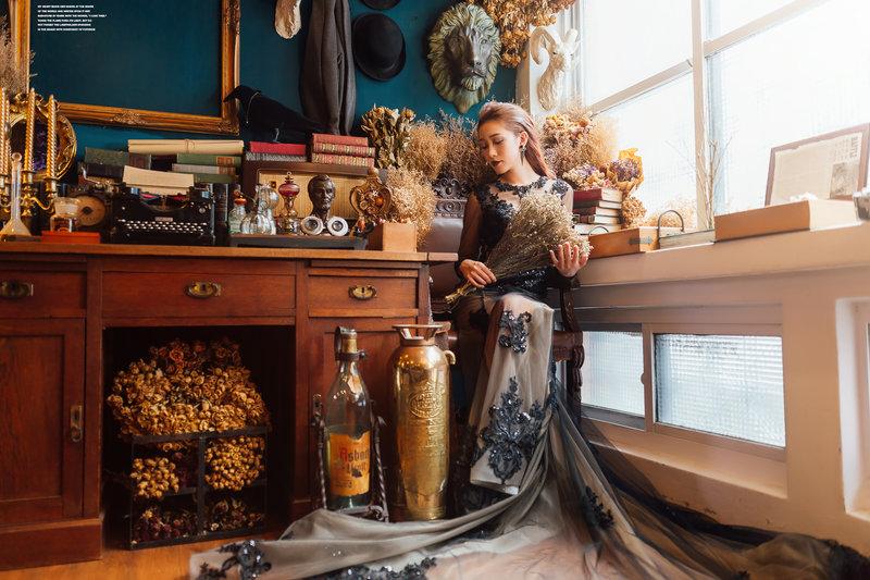 全棚內婚紗攝影專案作品