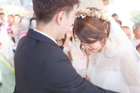 教堂證婚 / 高雄西子灣沙灘會館