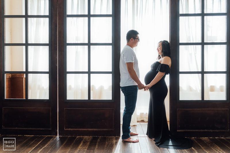 孕婦婚紗寫真作品