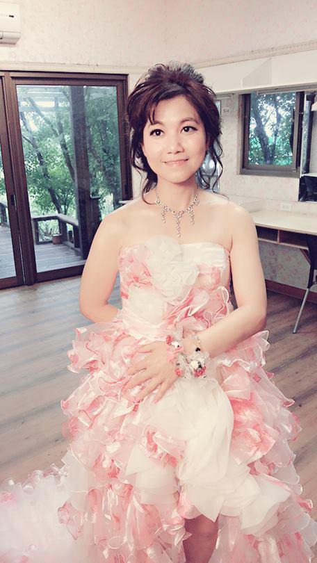 花精靈新秘Monica彩妝造型作品(編號:377118) - 花精靈婚紗∣攝影∣新秘 - 結婚吧