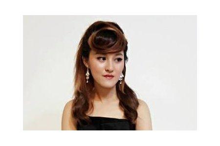 汐止花精靈婚紗美學 新秘Monica老師  婕妘時尚髮妝造型寫真