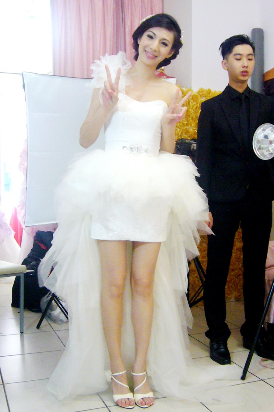 佳蓉白紗(編號:406440) - 花精靈婚紗∣攝影∣新秘 - 結婚吧
