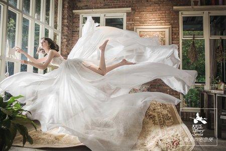 新竹婚紗創意婚紗攝影 飄浮婚紗