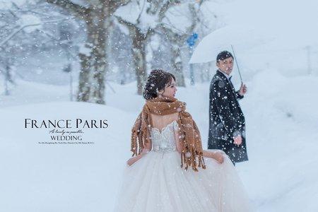 新竹法巴 | 北海道|海外婚紗|國外旅拍|雪地