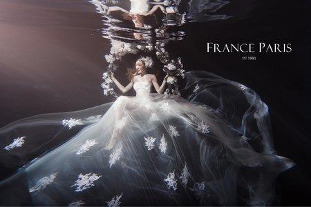 水中婚紗系列|水中攝影|童話浪漫風格