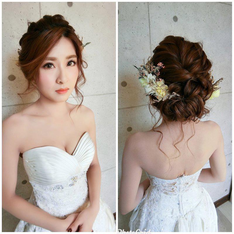 新竹婚紗 - 新娘秘書彩妝造型作品