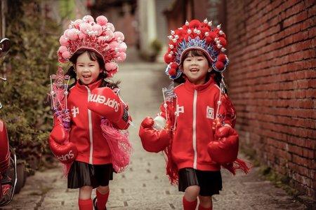 新竹法巴 | 中國風|國潮中式風格|個性街拍|全家福|情侶|親子|中國風婚紗