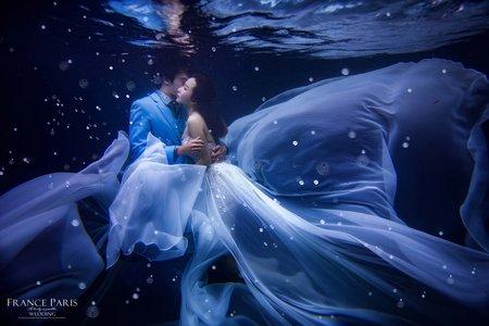 新竹法巴|浪漫童話風格 |水中婚紗|唯美