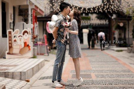 新竹法巴|客照分享|韓系婚紗|清新風格