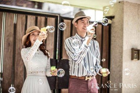 新竹法巴|韓式婚紗|清新風格寫真|棚拍婚紗