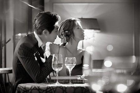 新竹法巴 | 韓式婚紗 |我和你 , 在一起 。
