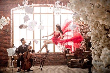 新竹法巴|漂浮婚紗|創意風格