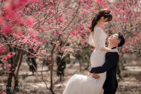 新竹法巴|花系婚紗