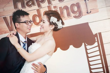 W0040 訂婚+結婚 ♥ 宴客