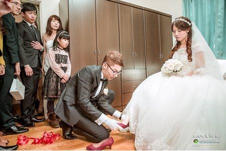 【婚禮紀錄】迎娶+午宴