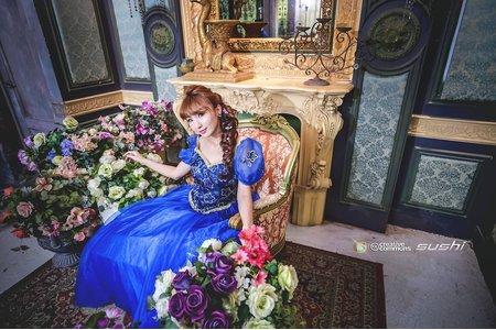【創意自助婚紗寫真】- 單人 - 冰雪奇緣版 仙杜瑞拉的魔法屋