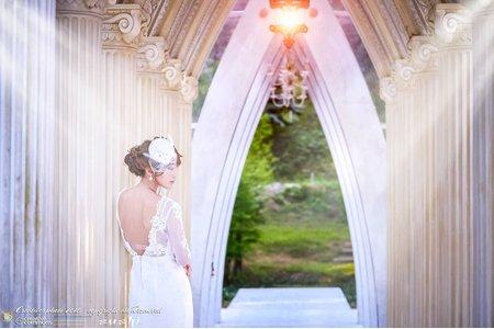 【創意自助婚紗寫真】- 單人 - 白色禮服饗宴世紀的婚禮