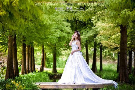 【創意自助婚紗寫真】- 單人白紗宣言