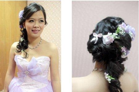 婚宴新娘造型作品-2