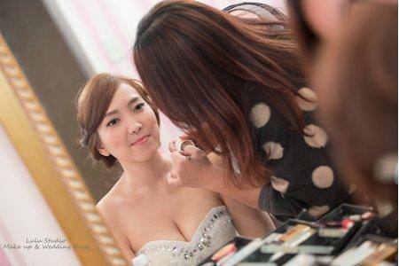婚宴新娘造型作品-4