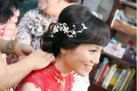 婚宴新娘造型作品-8