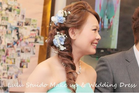 婚宴新娘造型作品-10