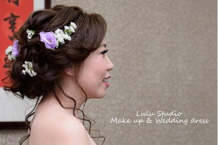 婚宴新娘造型作品-12