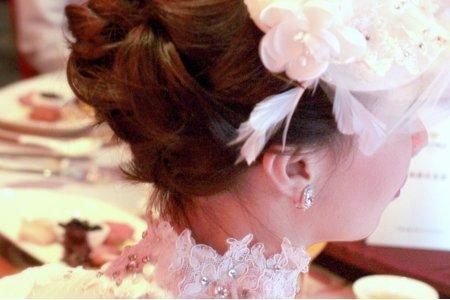婚宴新娘造型作品-13(短髮新娘)