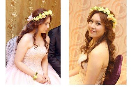 婚宴新娘造型作品-14