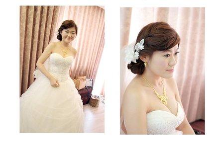 婚宴新娘造型作品-15